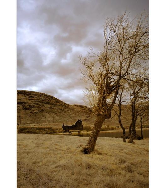 Kilchurn Castle, Loch Awe, Highlands VI (infrarot)
