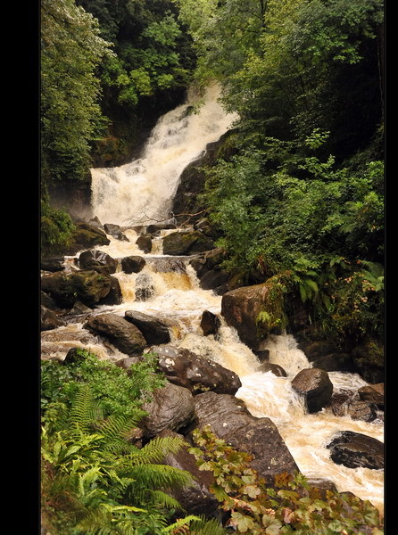 Torc Waterfall, Killarney Nationalpark III
