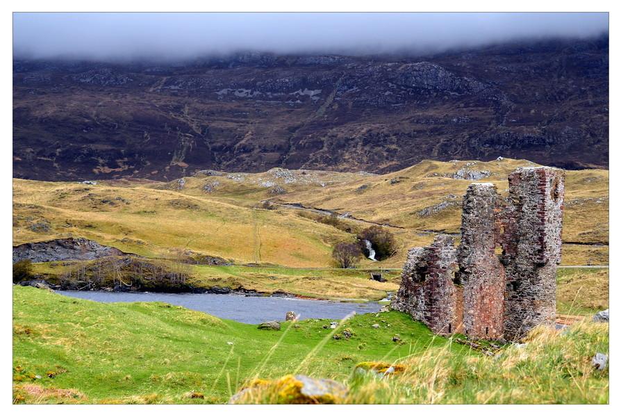 Ardvreck Castle, Loch Assynt, Sutherland, Highlands VII