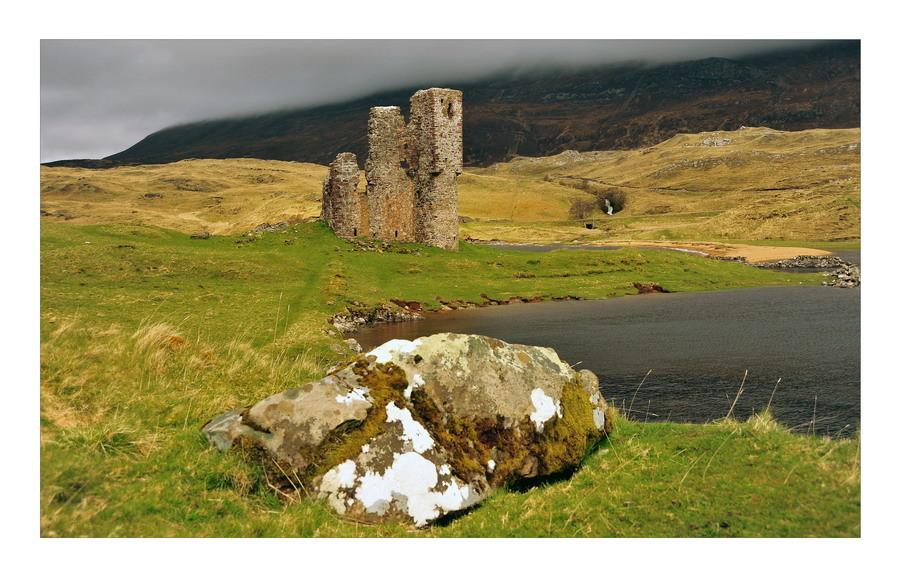Ardvreck Castle, Loch Assynt, Sutherland, Highlands VI