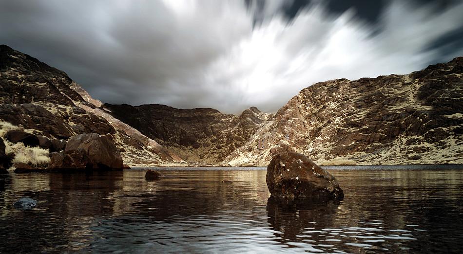 Loch Coruisk - Isle of Skye III (Infrarot)