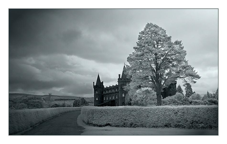 Inveraray Castle (Infrarot)