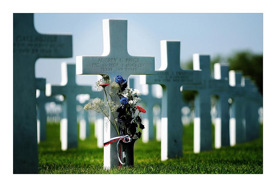 US-Soldatenfriedhof mit Gedenkstätte bei Henri-Chapelle VII