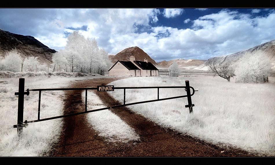 Glencoe / Black Rock Cottage III (Infrarot)