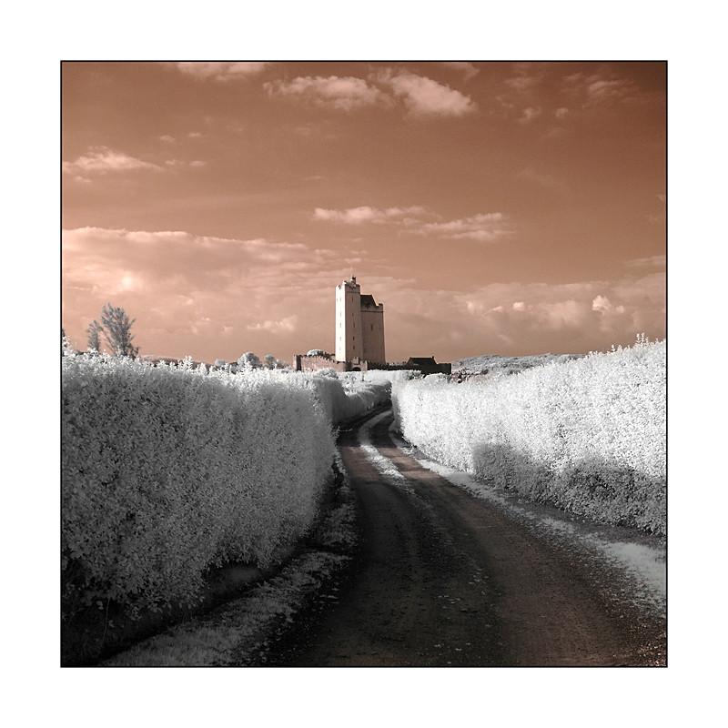 Kilcoe Castle / Southwest of County Cork I (Infrarot)