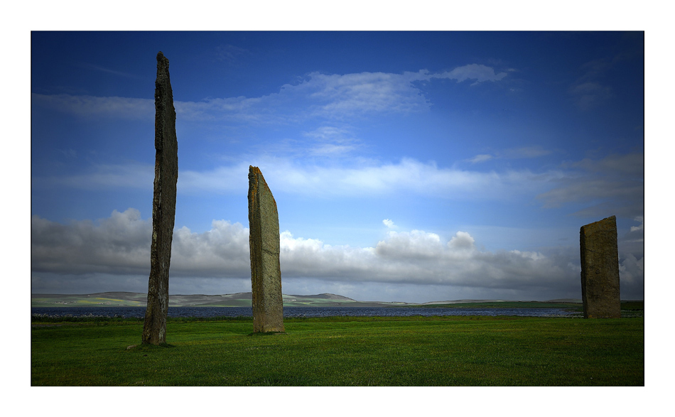 Orkney Island / Standing Stones of Stenness