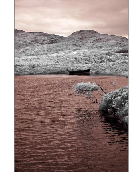 Loch Assynt, Sutherland, Highlands III (Infrarot)