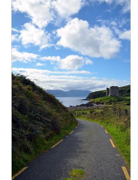 Minard Castle, Dingle Peninsula, Co. Kerry