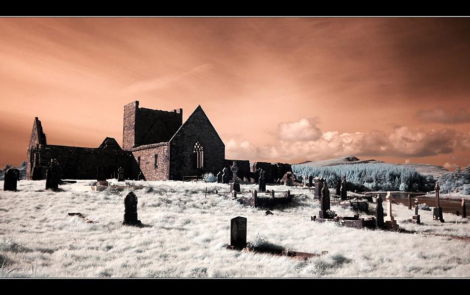 Burrishoole Abbey / County Mayo IV (Infrarot)
