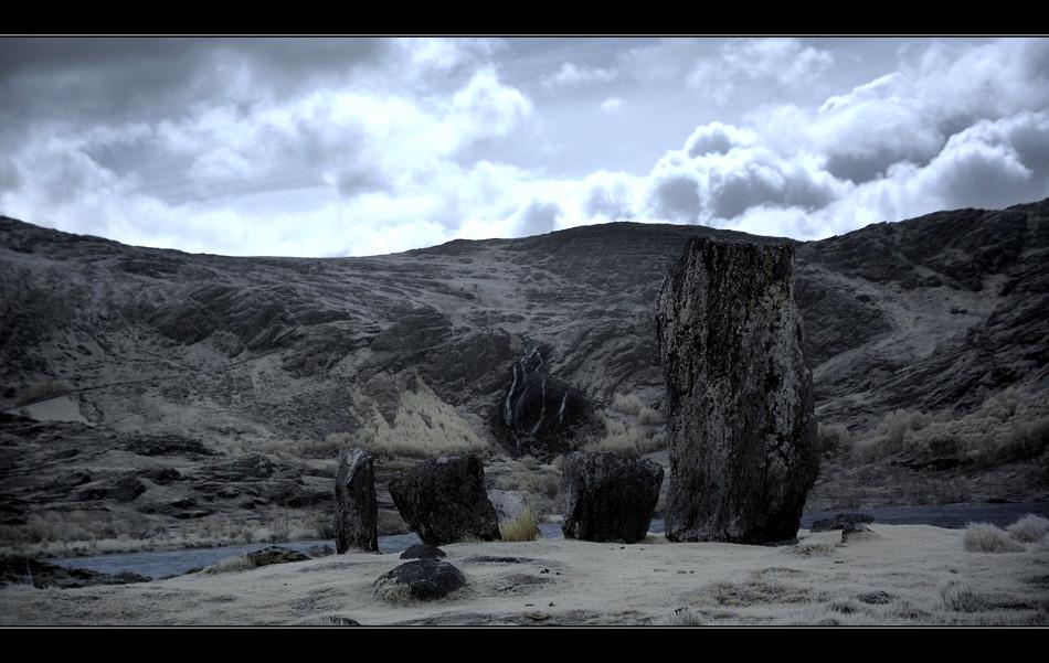 Uragh Stone Circle / Beara Peninsula IV (Infrarot)