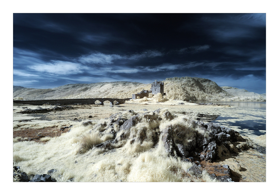 Eilean Donan Castle VII (Infrarot)