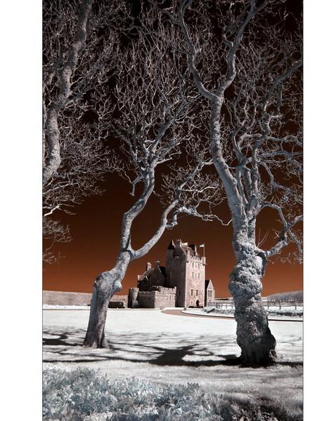 Ackergill Tower / Wick IV (Infrarot)