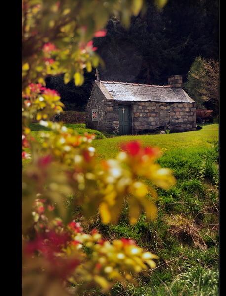 Old Cemetery, Loch Leven, Eingang zum Glen Coe, Highlands V