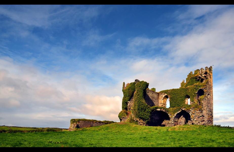 Ballycarbery Castle, Iveragh Peninsula, Co. Kerry IV