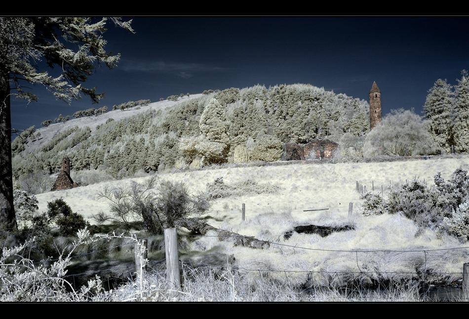 Glendalough / Wicklow Mountains XII (Infrarot)