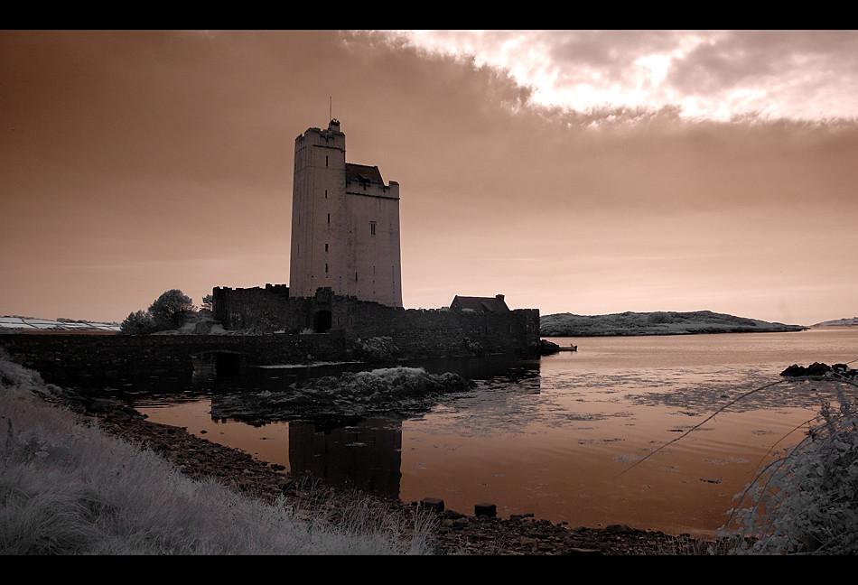 Kilcoe Castle / Southwest of County Cork II (Infrarot)