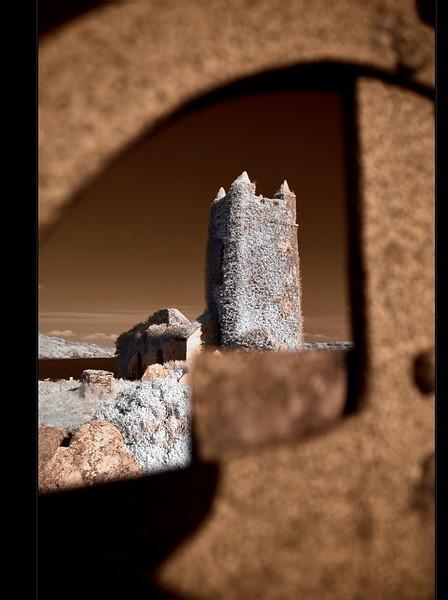 Old Saint Matthew`s Chruch / Kilcoe / Southwest of County Cork III (Infrarot)