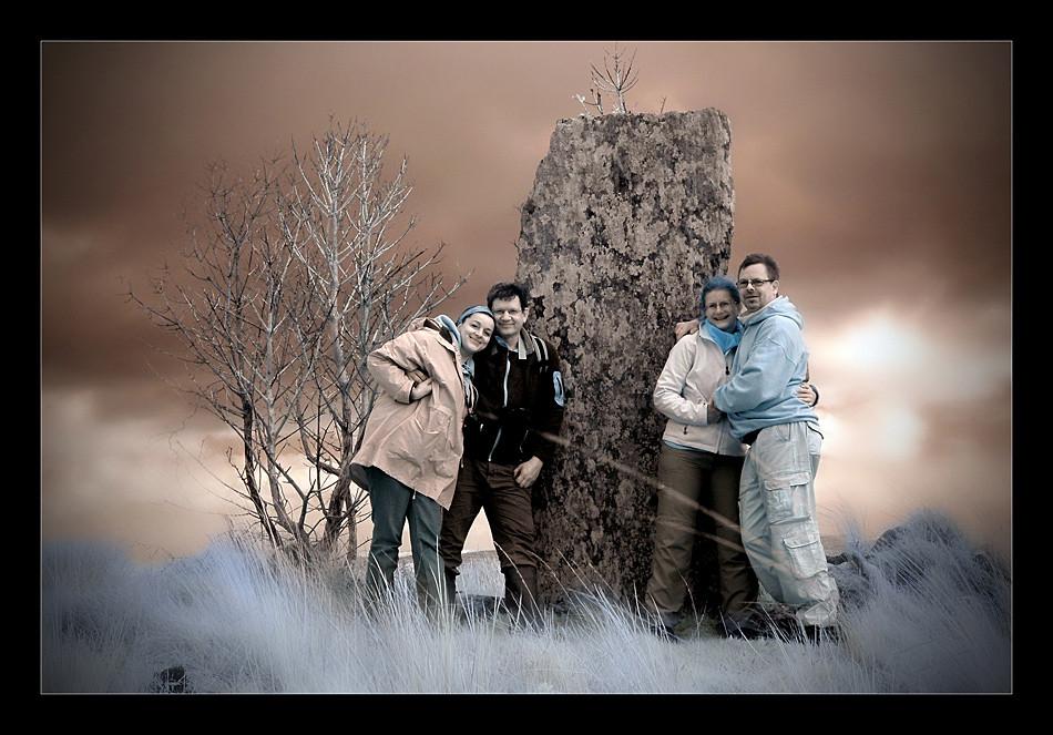 Standing Stone / Beara Peninsula II (Infrarot)