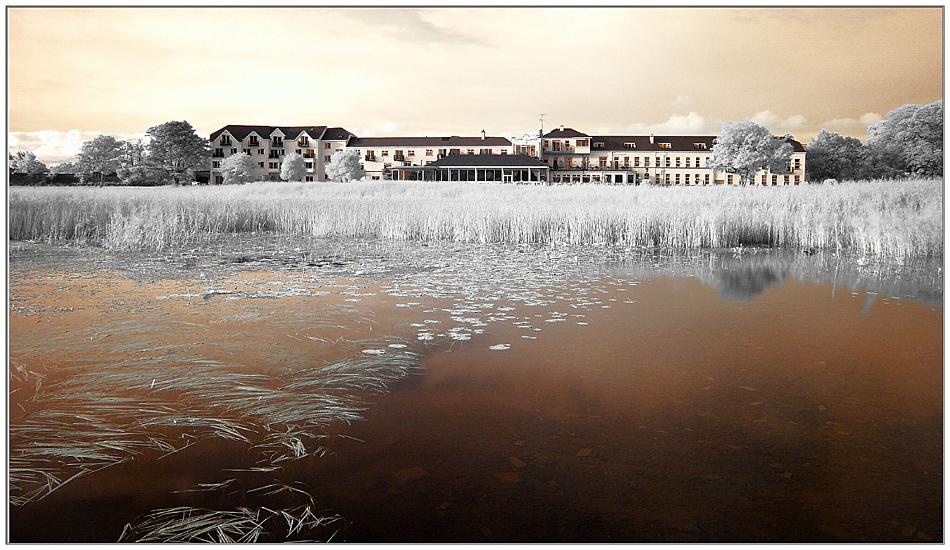 The Lake Hotel / Lough Leane / Killarney (Infrarot)