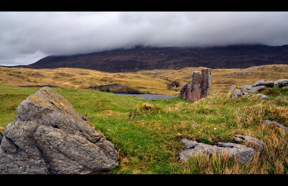 Ardvreck Castle, Loch Assynt, Sutherland, Highlands II