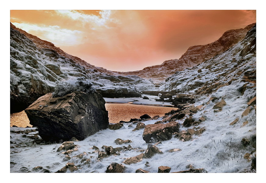 Gap of Dunloe / Killarney National Park X (Infrarot)