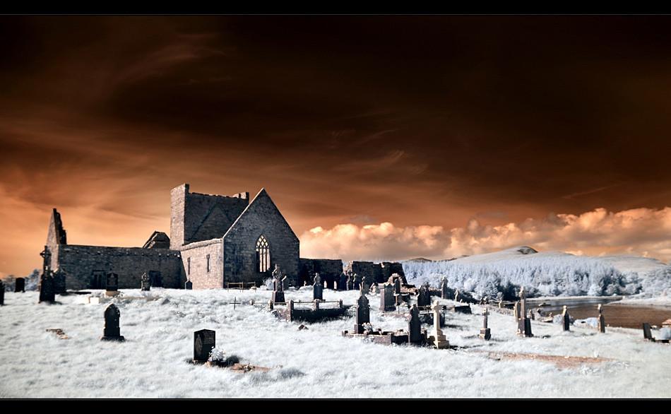 Burrishoole Abbey / County Mayo II (Infrarot)
