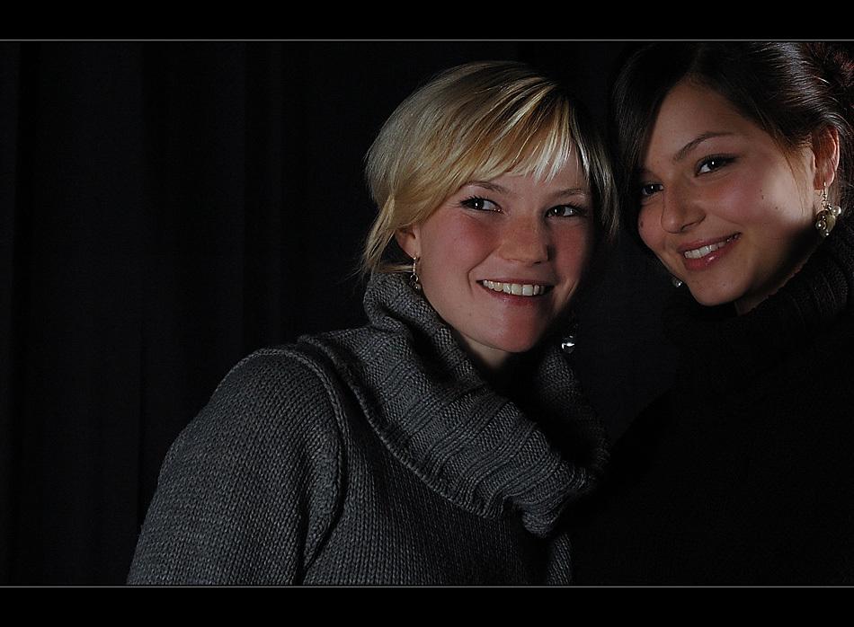 Kirsten und Karina