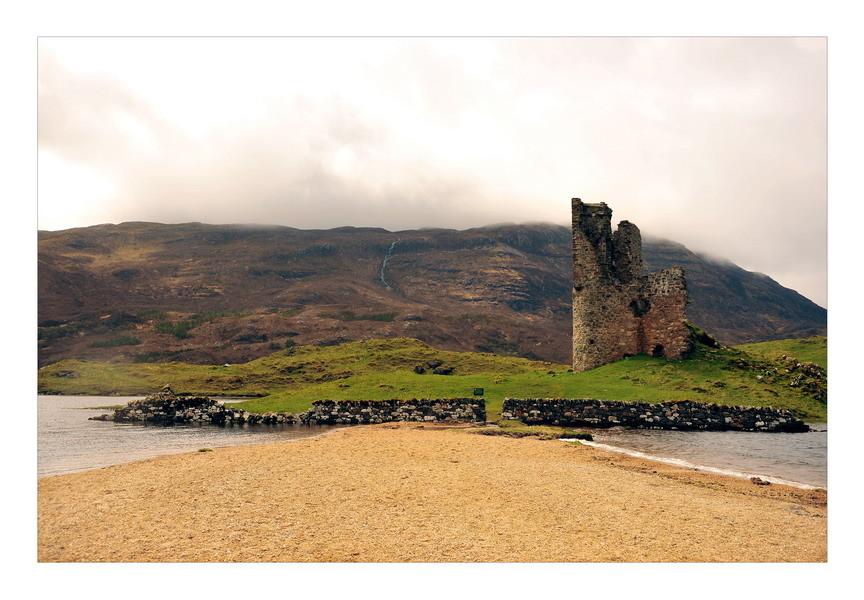 Ardvreck Castle, Loch Assynt, Sutherland, Highlands V