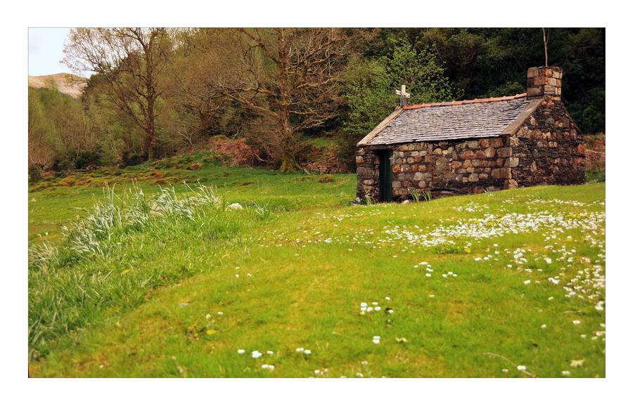 Old Cemetery, Loch Leven, Eingang zum Glen Coe, Highlands III