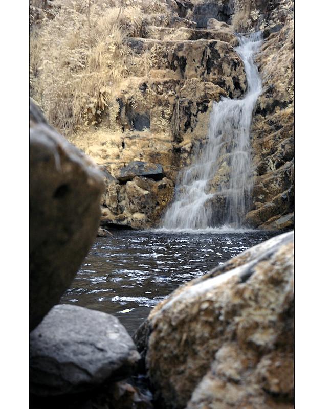O'Sullivan's Cascade / Tomies Wood / Killarney National Park V (Infrarot)