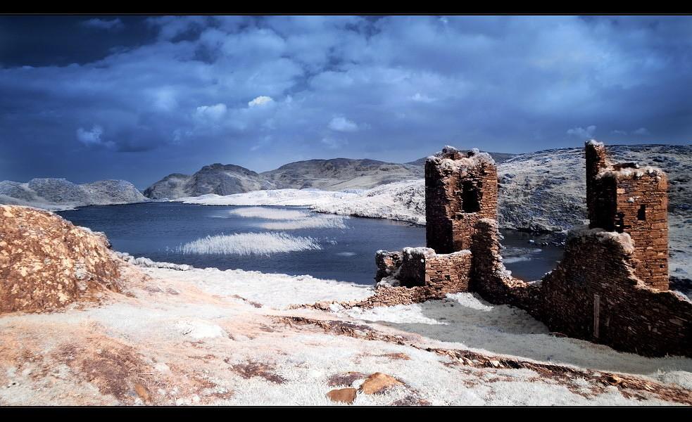 Three Castle Head / Mizen Peninsula V (Infrarot)