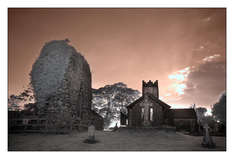Church of Ireland - St. James`s Stradbally III (Infrarot)