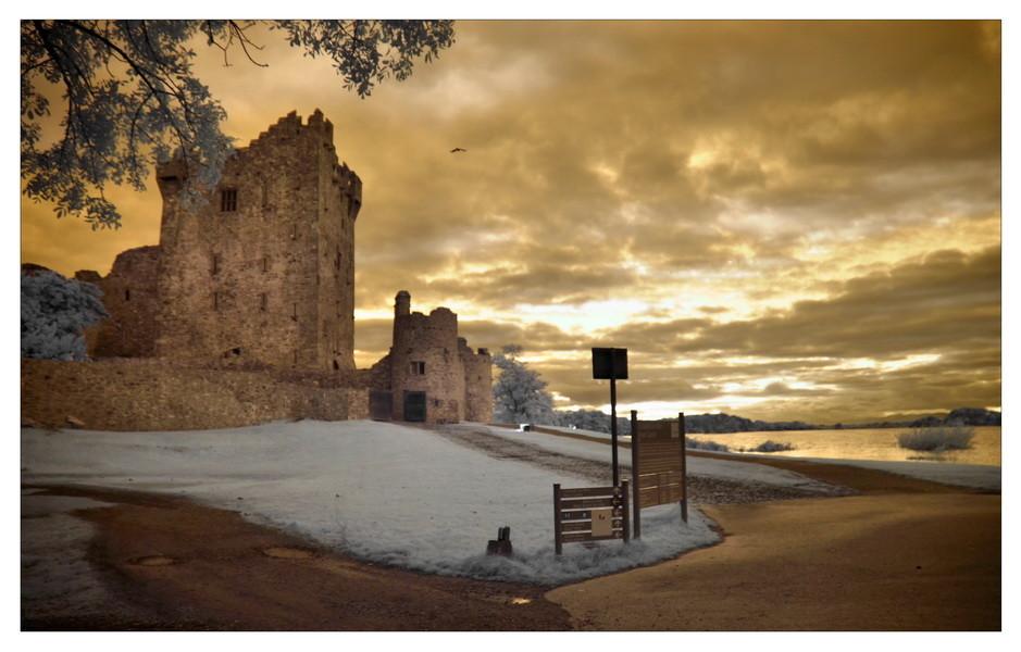 Ross Castle, Killarney (Infrarot)