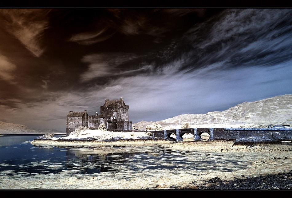 Eilean Donan Castle V (Infrarot)