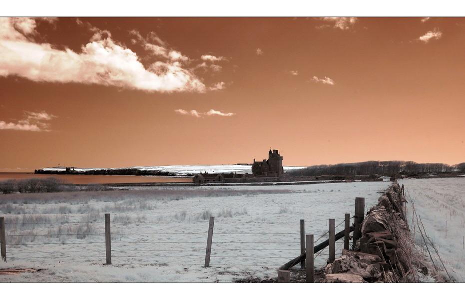 Ackergill Tower / Wick (Infrarot)