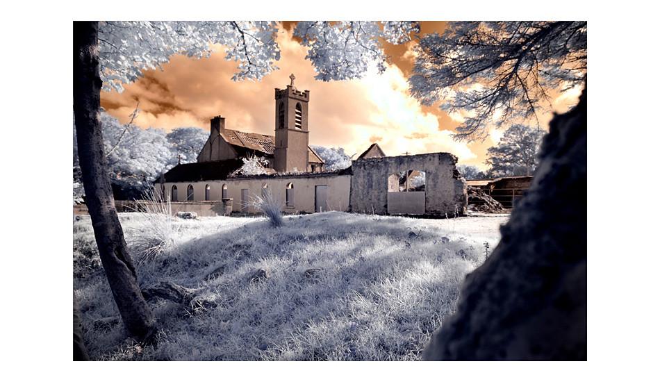 Abbey / County Mayo (Infrarot)
