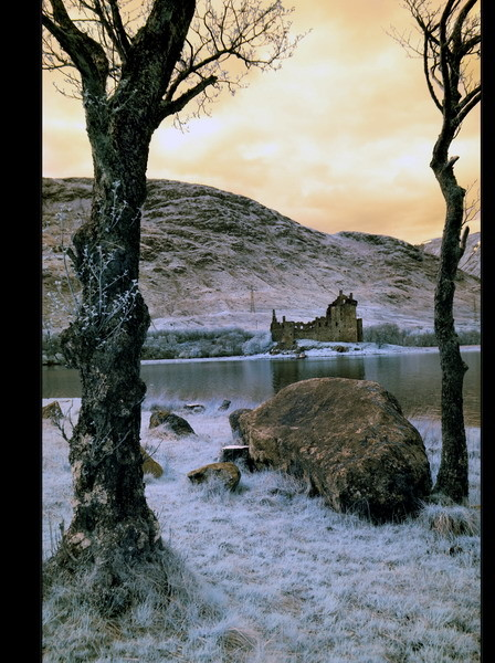 Kilchurn Castle, Loch Awe, Highlands VI (infrarot)