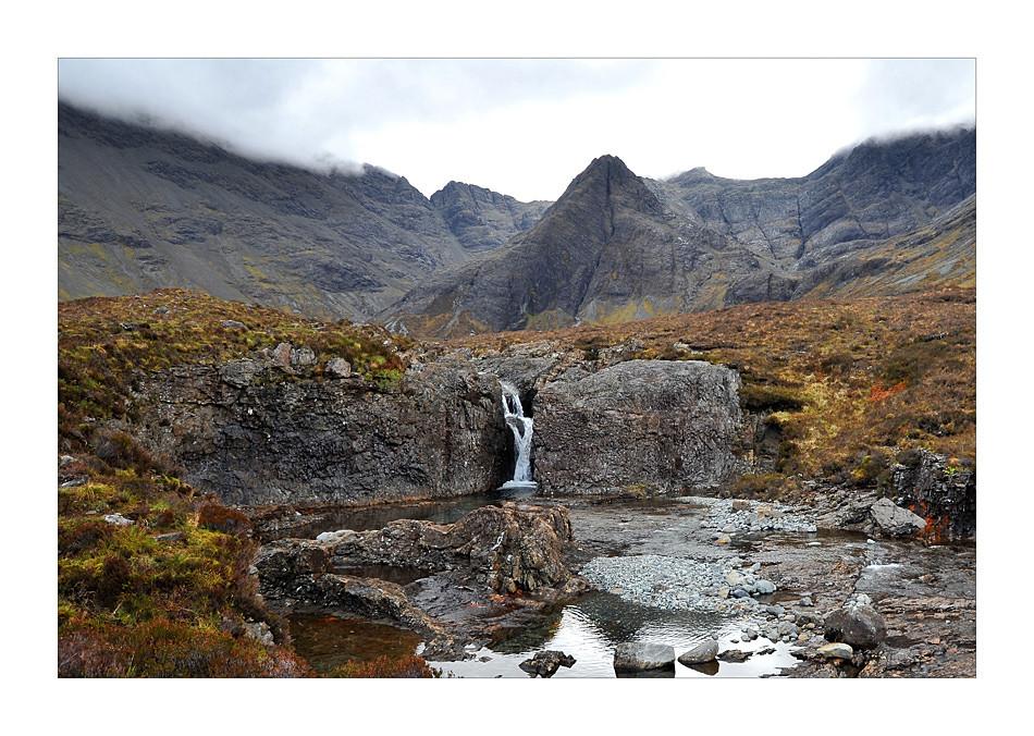 Fairy Pools and Cuillins / Isle of Skye