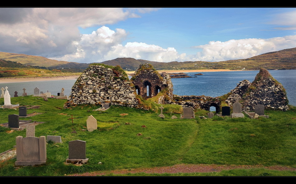 Derrynane Abbey, Iveragh Peninsula, Co. Kerry