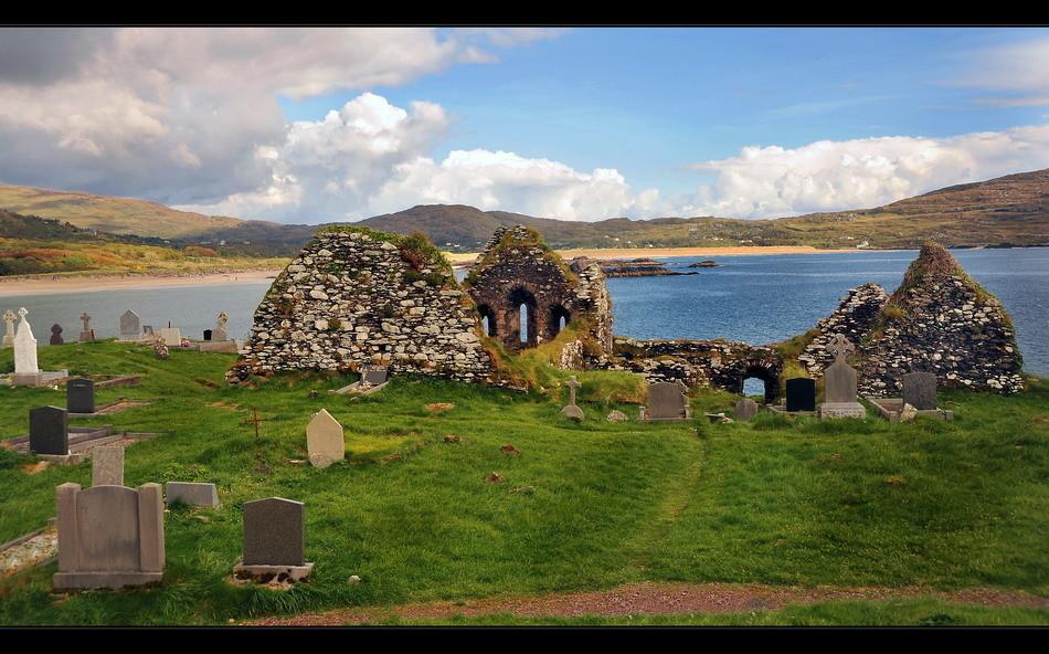 Derrynane Abbey, Iveragh Peninsula, Co. Kerry