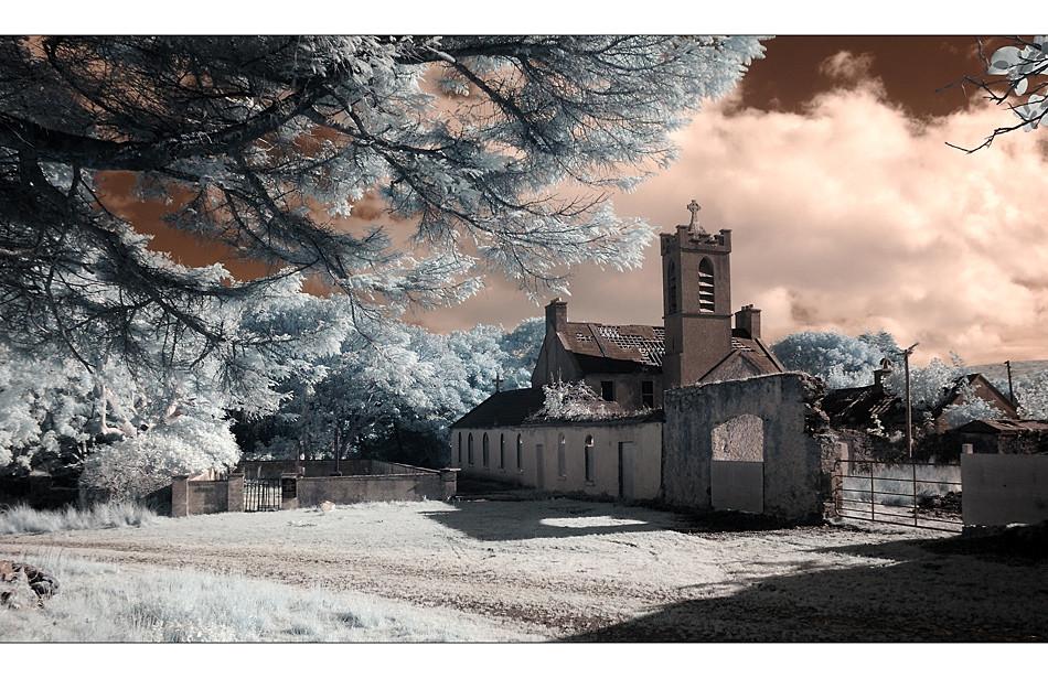 Abbey / County Mayo II (Infrarot)