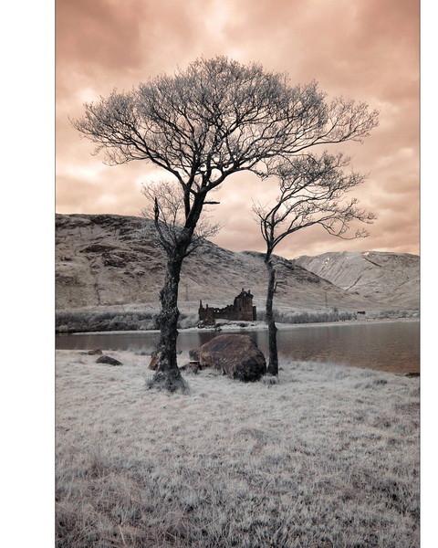 Kilchurn Castle, Loch Awe, Highlands IV (infrarot)