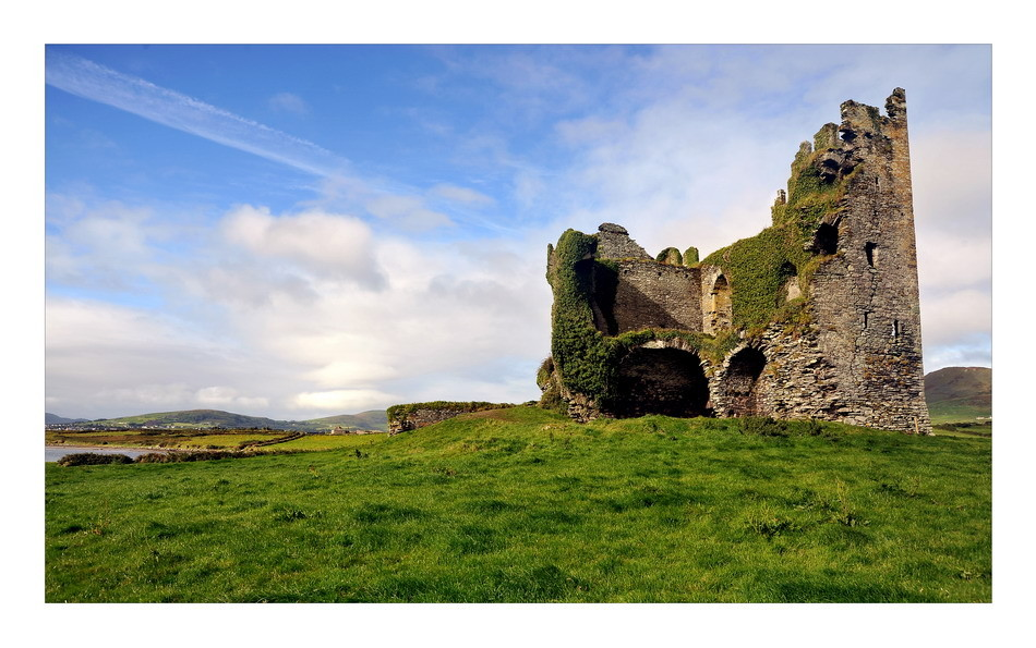 Ballycarbery Castle, Iveragh Peninsula, Co. Kerry II