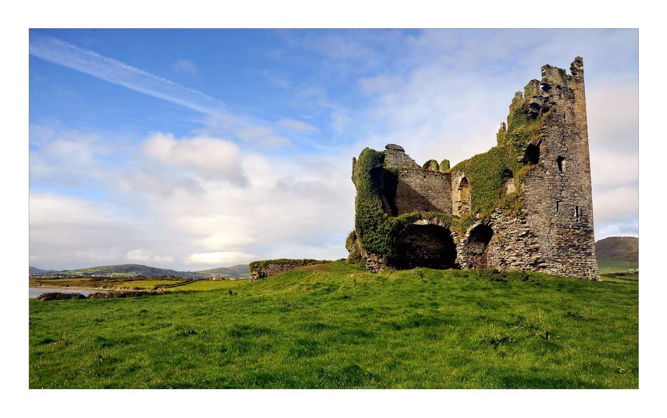 Ballycarbery Castle, Iveragh Peninsula, Co. Kerry II