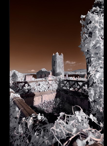 Old Saint Matthew`s Chruch / Kilcoe / Southwest of County Cork VI (Infrarot)