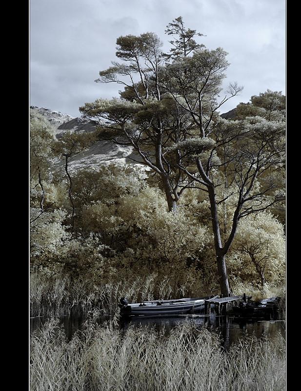 Kylemore Abbey / Connemara Nationalpark II (Infrarot)