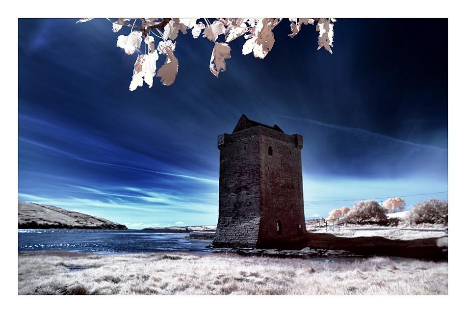 Rockfleet Castle / County Mayo II (Infrarot)