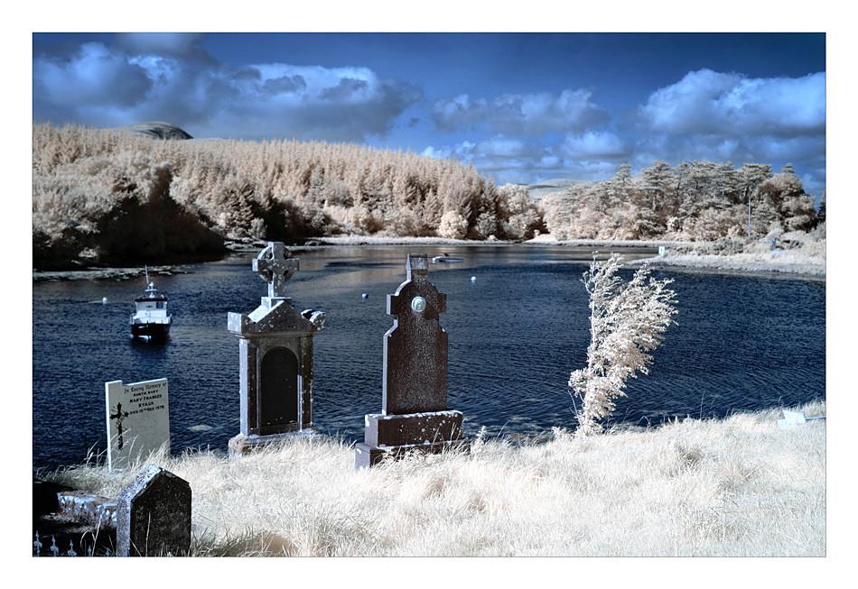 Burrishoole Abbey / County Mayo III (Infrarot)
