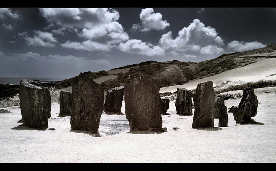 Drombeg Stone Circle II (Infrarot)