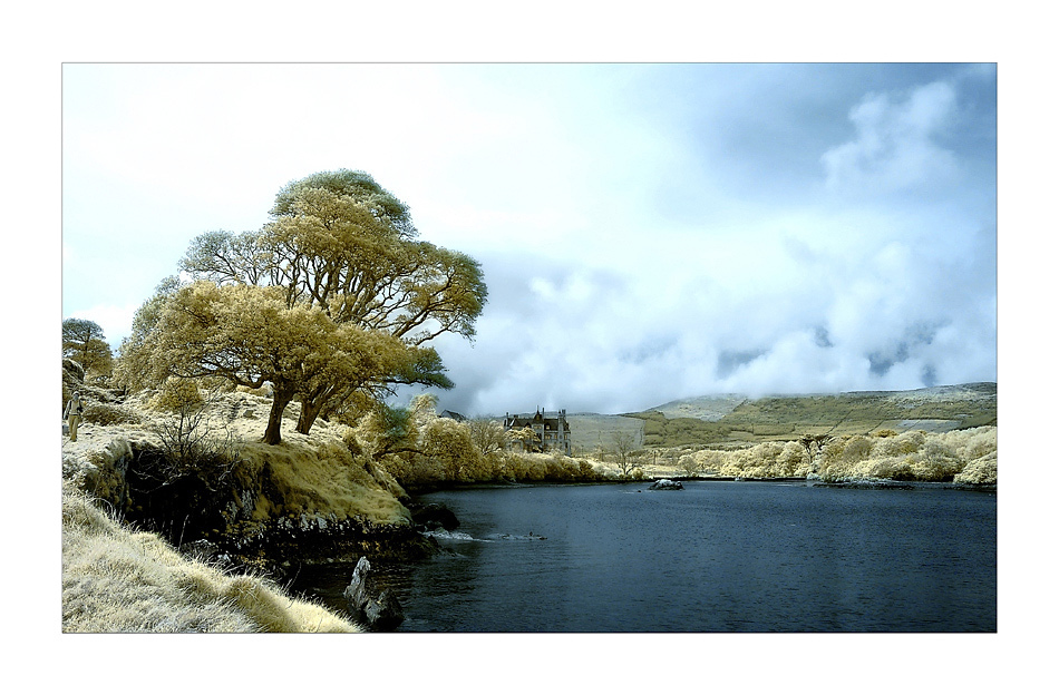 Dunboy Castle / Beara Peninsula (Infrarot)